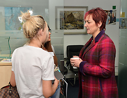 Equalities Secretary Angela Constance visited Working Rite, a charity that helps young people gain work experience, to deliver the first update to the Fairer Scotland Action Plan, a flagship Scottish Government initiative.<br /> <br /> © Dave Johnston/ EEm