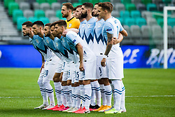 Slovenian national team during the UEFA Nations League C Group 3 match between Slovenia and Moldova at Stadion Stozice, on September 6th, 2020. Photo by Grega Valancic / Sportida
