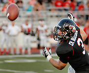 Argyle High's tight end, Chad Bossow (3), misses a pass thrown by quaraterback, Austin Aune, during first quarter action against Mineral Wells High School Friday September 2, 2011....Robert W. Hart/Special Contributor