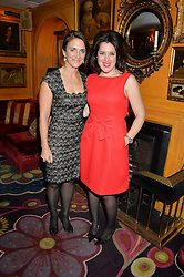 Left to right, CAROLINA MANHUSEN SCHWAB and EMMA FRANCE at the mothers2mothers 15 Years of Wonder Women at held at Annabel's, Berekely Square, London on 9th November 2016.