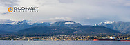 Panoramic of  Port Angeles, Washintgon, USA