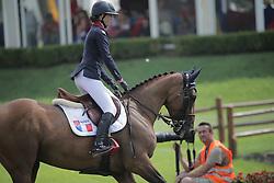 Schillewaert Laure (FRA) - Queen de Carene<br /> FEI European Jumping Championship for juniors <br /> Arezzo 2014<br /> © Hippo Foto - Stefano Secchi