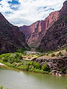 Gates of Lodore, Green River, Dinosaur National Monument, Colorado, USA.