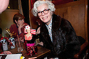 THELMA SPEIRS; , Ponystep - issue 3 launch party, George and Dragon, 2-4 Hackney Road, London, E2.  April 5 2012.