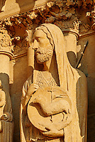 France, Marne (51), Reims, la cathédrale Notre-Dame de Reims, classée Patrimoine Mondial de l'UNESCO, cathédrale des sacres des rois de France, détails de la façade // France, Champagne, Reims, Reims Cathedral