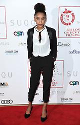 Sennia Nanua arriving at the London Film Critics Circle Awards 2017, the May Fair Hotel, London.