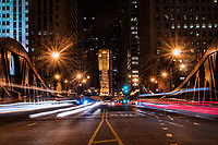 LaSalle Street Bridge & Chicago Board of Trade