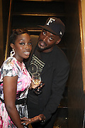 l to r: Estelle and Efrem Jenkins at The ROOTS Present the Jam produced by Jill Newman held at The Highline Ballroom on May 25, 2009