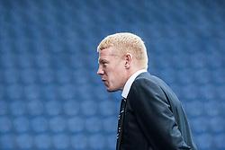 Falkirk's manager Gary Holt.<br /> Falkirk 1 v 2 Hamilton, Scottish Championship 31/8/2013.<br /> ©Michael Schofield.