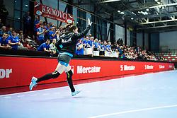Zulic Nina of RK Krim Mercator during handball match between RK Krim Mercator and Brest Bretagne Handball in 2nd main round of Women's DELO EHF Champions League 2019/20, on February 2, 2020 in Kodeljevo, Ljubljana,  Slovenia. Photo Grega Valancic / Sportida