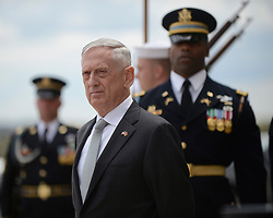 April 23, 2018 - Washington, District of Columbia, U.S. - Defense Secretary JAMES MATTIS meets with Minister of Defence for the Kingdom of Thailand at the Pentagon in Washington, D.C., April 23, 2018. (Credit Image: ? DOD via ZUMA Wire/ZUMAPRESS.com)