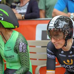 28-08-2018: Wielrennen: Ladies Tour: Arnhem<br />Lisa Brennauer, Anouska Koster
