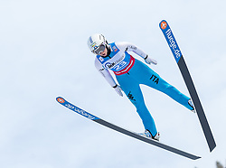 30.01.2016, Normal Hill Indiviual, Oberstdorf, GER, FIS Weltcup Ski Sprung Ladis, Bewerb, im Bild Elena Runggaldier (ITA) // Elena Ruggaldier of Italy during her Competition Jump of FIS Ski Jumping World Cup Ladis at the Normal Hill Indiviual, Oberstdorf, Germany on 2016/01/30. EXPA Pictures © 2016, PhotoCredit: EXPA/ Peter Rinderer