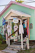 Tourist shop in Dunmore Town, Harbour Island, The Bahamas