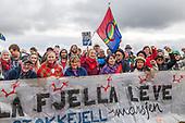 Vindkraftprotest Stokkfjellmarsjen Selbu 17.09.17
