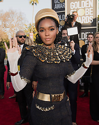 January 6, 2019 - Beverly Hills, California, United States of America - Janelle Monae attends the 76th Annual Golden Globe Awards at the Beverly Hilton in Beverly Hills, California on  Sunday, January 6, 2019. HFPA/POOL/PI (Credit Image: © Prensa Internacional via ZUMA Wire)