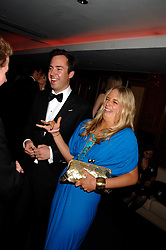 JAMES MURRAY-WELLS and ASTRID HARBORD at the 2008 Boodles Boxing Ball in aid of the charity Starlight held at the Royal Lancaster Hotel, London on 7th June 2008.<br /> <br /> NON EXCLUSIVE - WORLD RIGHTS