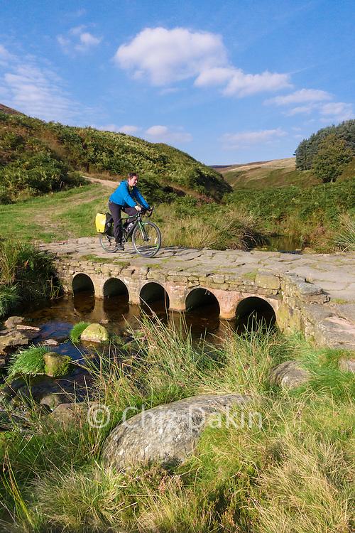 Crossing the Ogden Brook near Tintwistle