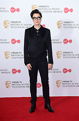 Sue Perkins in the press room at the Virgin TV British Academy Television Awards 2017 held at Festival Hall at Southbank Centre, London.