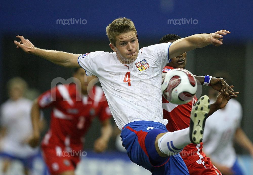 Fussball International U 20 WM  Tschechien 2-1 Panama Ondrej Mazuch (CZE) am Ball