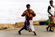 Dancing Girl in Saint-Louis Senegal