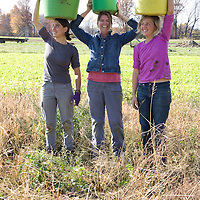 Ami formed a group of women she calls the 'Portage Plow Girls' originally as a joke, because only women wanted to work on their farm. The term has now become a group and term for all the women doing the heavy lifting in Portage County's agriculture community.