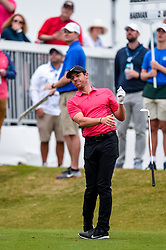March 23, 2018 - Austin, TX, U.S. - AUSTIN, TX - MARCH 23: Rory McIlroy drops his club after hitting a tee shot during the third round of the WGC-Dell Technologies Match Play on March 23, 2018 at Austin Country Club in Austin, TX. (Photo by Daniel Dunn/Icon Sportswire) (Credit Image: © Daniel Dunn/Icon SMI via ZUMA Press)