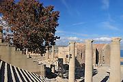 Greece, Rhodes, Lindos Acropolis
