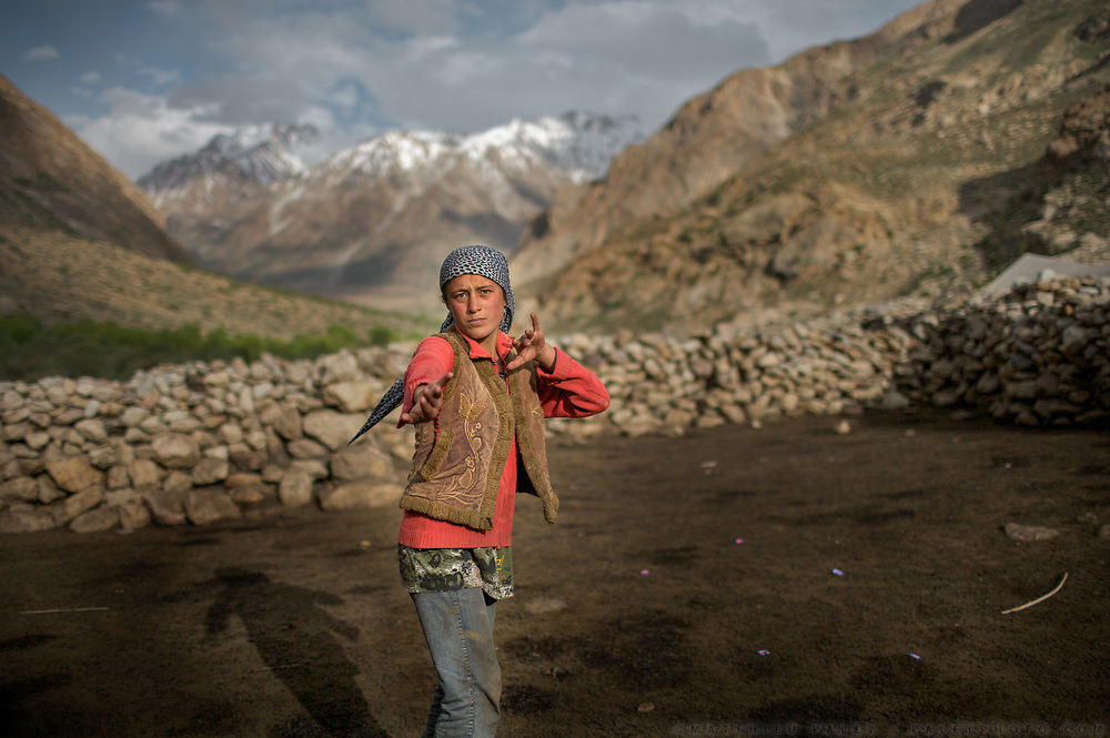 Trekking up and down the Rivak valley, spending time in the high pasture etc. Nearby Khorog.<br /> <br /> The town of Khorog (2200m), is the capital of the Gorno-Badakhshan Autonomous Province (GBAO) in Tajikistan. It is situated in the Pamir Mountains (ancient Mount Imeon) at the confluence of the Gunt and Panj rivers.<br /> The city is bounded to the south and to the north by the deltas of the Shakhdara and Gunt rivers, respectively. The two rivers merge in the eastern part of the city flow through the city, dividing it almost evenly until its delta in the river Panj, also being known as Amu Darya, or in antiquity the Oxus on the border with Afghanistan. Khorog is known for its beautiful poplar trees that dominate the flora of the city.<br /> Khorog is one of the poorest areas of Tajikistan, with the charitable organization Aga Khan Foundation providing almost the only source of cash income. Most of its inhabitants are Ismaili Muslims.<br /> <br /> Tajikistan, a mountainous landlocked country in Central Asia. Afghanistan borders it to the south, Uzbekistan to the west, Kyrgyzstan to the north, and People's Republic of China to the east. Tajikistan also lies adjacent to Pakistan separated by the narrow Wakhan Corridor.<br /> Tajikistan became a republic of the Soviet Union in the 20th century, known as the Tajik Soviet Socialist Republic.<br /> It was the first of the Central Asian republic to gain independence in December 1991.