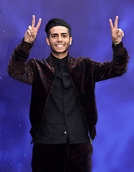 Mena Massoud attending the Aladdin European Premiere held at the ODEON Luxe Leicester Square, London