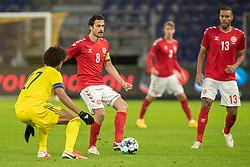 Thomas Delaney (Danmark) under venskabskampen mellem Danmark og Sverige den 11. november 2020 på Brøndby Stadion (Foto: Claus Birch).