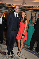 DRUMMOND MONEY-COUTTS and SHEEVA MOSHIRI at Fashion For The Brave held at The Dorchester Hotel, Park Lane, London on 20th September 2012.
