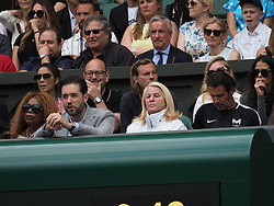 July 13, 2019 - London, England - LONDON, ENGLAND - JULY 13:  Alexis Ohanian  attend the Women's Singles Final of the Wimbledon Tennis Championships at All England Lawn Tennis and Croquet Club on July 13, 2019 in London, England...People:  Alexis Ohanian. (Credit Image: © SMG via ZUMA Wire)