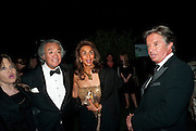 LADY ANOUSKHA WEINBERG; SIR DAVID TANG; RICHARD CARING, The Ormeley dinner in aid of the Ecology Trust and the Aspinall Foundation. Ormeley Lodge. Richmond. London. 29 April 2009
