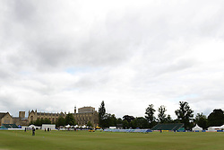 A general view of the Cheltenham Cricket festival ahead of the Gloucestershire v Northamptonshire LV=County Championship division 2 Game - Photo mandatory by-line: Dougie Allward/JMP - Mobile: 07966 386802 - 08/07/2015 - SPORT - Cricket - Cheltenham - Cheltenham College - LV=County Championship 2