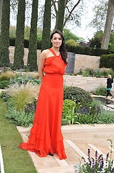 Singer LAURA WRIGHT at the 2012 RHS Chelsea Flower Show held at Royal Hospital Chelsea, London on 21st May 2012.