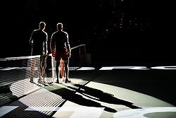 October 30, 2018 - Paris, Ile-de-France (region, France - Jo-Wilfried Tsonga (FRA) against Milos Raonic (CAN) at the Rolex Paris Masters at the AccorHotels Arena in Paris, France, le 30 octobre 2018 (Credit Image: © Julien Mattia/Le Pictorium Agency via ZUMA Press)