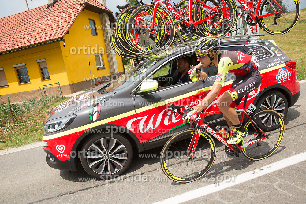 during Stage 2 of 24th Tour of Slovenia 2017 / Tour de Slovenie from Ljubljana to Ljubljana (169,9 km) cycling race on June 16, 2017 in Slovenia. Photo by Vid Ponikvar / Sportida