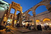 Western Temple Gate, Damascus, Syria