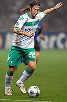 Fotball<br /> Italia<br /> Foto: Inside/Digitalsport<br /> NORWAY ONLY<br /> <br /> Torsten Frings (Werder) <br /> <br /> 01.10.2008<br /> UEFA Champions League 2008/2009<br /> Inter v Werder Bremen (1-1)