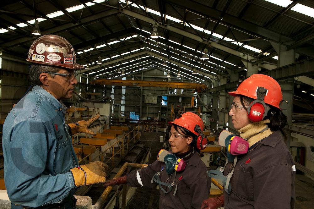 Sabinas, mina de Industrias Peñoles