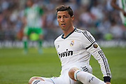 Cristiano Ronaldo after a occasion of scoring