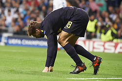 October 17, 2017 - Madrid, Spain - Fernando Llorente (forward; Tottenham Hotspur) in action during the UEFA Champions League match between Real Madrid and Tottenham Hotspur at Santiago Bernabeu on October 17, 2017 in Madrid (Credit Image: © Jack Abuin via ZUMA Wire)