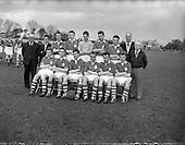 1956 - Soccer Interprovincial Schoolboys: Leinster v Ulster at Whitehall