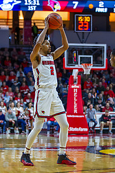 NORMAL, IL - November 29: Zach Copeland during a college basketball game between the ISU Redbirds and the Prairie Stars of University of Illinois Springfield (UIS) on November 29 2019 at Redbird Arena in Normal, IL. (Photo by Alan Look)