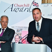 Winner of Local Hero – Ged Hollyoake son Jason Dean of the 7th annual Churchill Awards honour achievements of the Over 65's at Claridge's Hotel on 10 March 2019, London, UK.