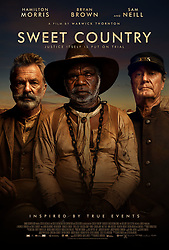 RELEASE DATE: April 6, 2018 TITLE: Sweet Country STUDIO: Samuel Goldwyn Films DIRECTOR: Warwick Thornton PLOT: Australian western set on the Northern Territory frontier in the 1920s, where justice itself is put on trial when an aged Aboriginal farmhand shoots a white man in self-defense and goes on the run as a posse gathers to hunt him down. STARRING: Bryan Brown, Luka Magdeline Cole, Shanika Cole. (Credit Image: ? Samuel Goldwyn Films/Entertainment Pictures/ZUMAPRESS.com)