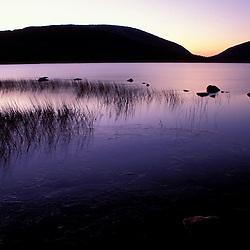 Acadia N.P., ME. Eagle Lake. Cadillac Mountain. Pemetic Mountain.