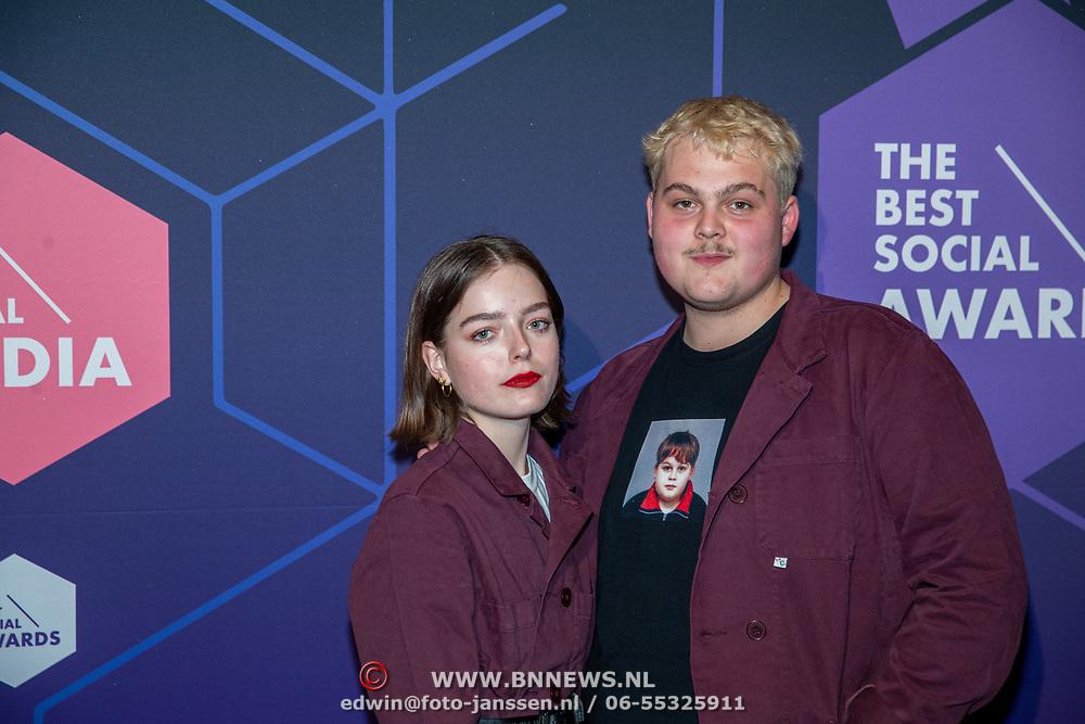 NLD/Amsterdam/20190613 - Inloop uitreiking De Beste Social Awards 2019, Martijn van Eijzeren aka Stuntkabouter