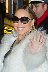 Mariah Carey leaving the Plaza Athenee Hotel to her concert at AccorHotels Arena on December 07, 2018 in Paris, France. Photo by Nasser Berzane/ABACAPRESS.COM
